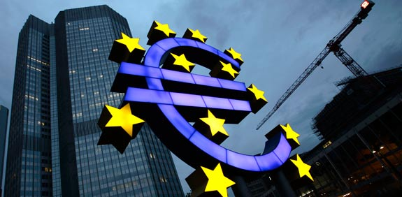 אירופה בנק מרכזי / צלם: רויטרס